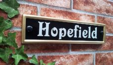 Personalized House Plaque – 292mm x 70mm; 11.5 inches x 2.7 inches